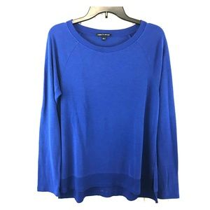 Cable & Gauge Blue Sweater